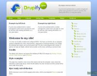 Drupify Template